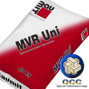Baumit MVR Uni белая цементно-известковая штукат./ 40кг